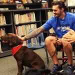 steven adams and his pet dog