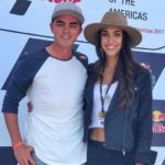 Allison Stokke with husband Rickie Fowler