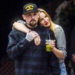 Cameron Diaz with husband Benji Madden image