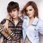 Emma Watson with brother Alex Watson