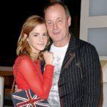 Emma Watson with father Chris Watson