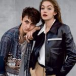 Gigi Hadid with brother Anwar Hadid