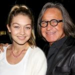 Gigi Hadid with father Mohamed Hadid
