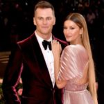 Gisele Bundchen with husband Tom Brady image