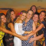Gisele Bundchen with mother and 5 sisters