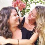 Gisele Bundchen with sister Raquel Bundchen