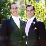 Henry Cavill with brother Charlie Cavill