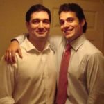 Henry Cavill with brother Piers Cavill