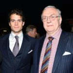 Henry Cavill with father Colin Cavill