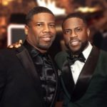 Kevin Hart with brother Robert Hart