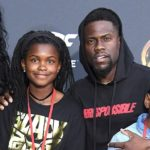 Kevin Hart with daughter Heaven Hart