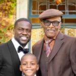 Kevin Hart with father Henry Hart