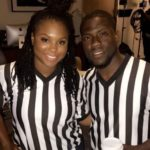 Kevin Hart with former wife Torrei Hart