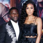 Kevin Hart with wife Eniko Parrish