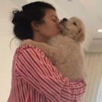 Kourtney Kardashian pet dog
