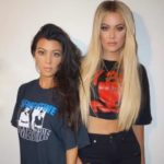 Kourtney Kardashian with sister Khloe Kardashian