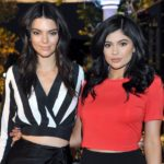 Kylie Jenner with sister Kendall Jenner