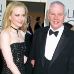 Nicole Kidman with father Antony David Kidman