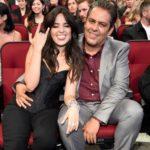 Camila Cabello with father Alejandro Cabello