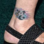 Carrie Fisher tattoo