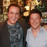 Cory Monteith with brother Shaun Monteith