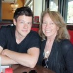 Cory Monteith with mother Ann McGregor