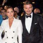 David Beckham with wife Victoria Beckham