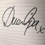 Dua Lipa signature