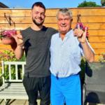 Finn and his father Fintan Devitt image.