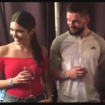 Finn and his girl friend Cathy Kelley image