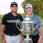 Jason Day with father Alvin Day