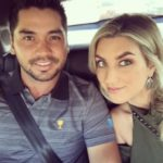 Jason Day with wife Ellie Harvey