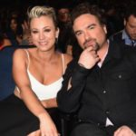Kaley Cuoco and Johnny Galecki dated