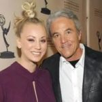 Kaley Cuoco with father Gary Carmine Cuoco