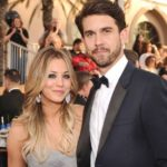 Kaley Cuoco with former spouse Ryan Sweeting