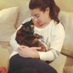 Lea Michele pet cat