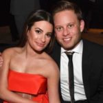 Lea Michele with husband Zandy Reich