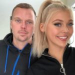 Loren Gray with father