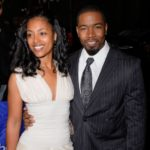 Michael Jai White with former wife Courtenay Chatman