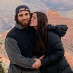 Morgan Eastwood with her boyfriend Tanner Koopmans