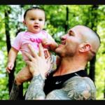 Randy and his daughter Brooklyn Rose Orton image.