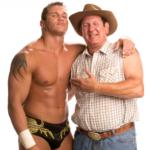 Randy and his father Bob Orton Jr. image.