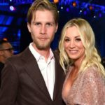 kaley Cuoco with husband Karl Cook