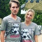 kaley Cuoco with husband Karl Cook image
