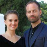 Benjamin Millepied with wife Natalie Portman