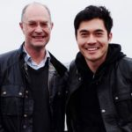 Henry Golding with father Clive Golding