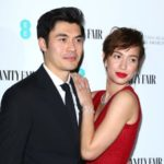Henry Golding with wife Liv Lo