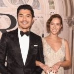 Henry Golding with wife Liv Lo image