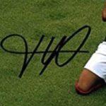 Kylian Mbappe signature