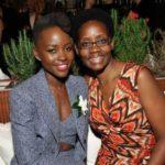 Lupita Nyong'o with mother Dorothy